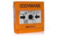 PO- 63 Wtynkowy przycisk oddymiania (pomarańczowy) wtynkowy, 3xLED + kasowanie